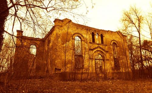 Niwiska, prawdopodobnie zbór ewangelicki z XVIII w