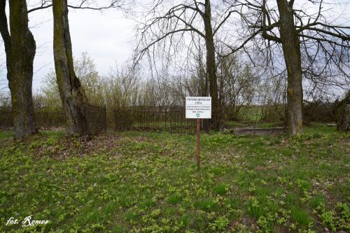 Upałty Małe - nieczynny cmentarz ewangelicki