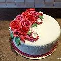 Tort urodzinowy #rodxinowy #tort #okazjonalny #tort #tort z #kwiatami #tortytort