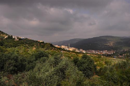 Widok spod Góry Tabor