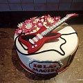 Tort z gitara na 18 -tkę #tort z #gitara #tort #okazjonalny #tort #dla #muzyka #gitara #tort #torty