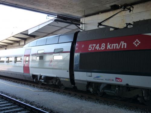 To właśnie on--TGV V 150Skład konwencjonalny-najszybszy na świecie
