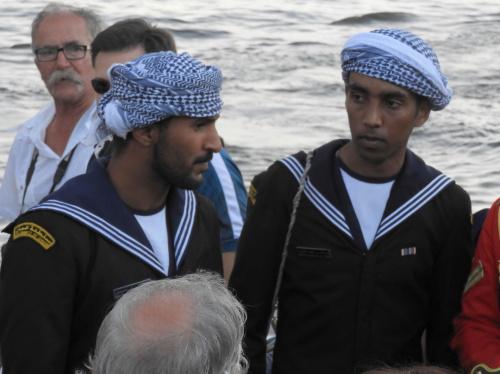 Marynarze z Omanu.