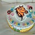 Tort z głowa konika #koń #tort z #koniem #tort #okolicznościowy #tort #torty #dla #dzici #tort #dla #chłopca