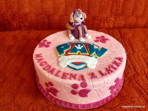 #tort z #piskiem #tort z #psim #patrolem #psi #patrol #tort #dla #dzeci #tort #okolicznoąciowy #tort #torty #paw