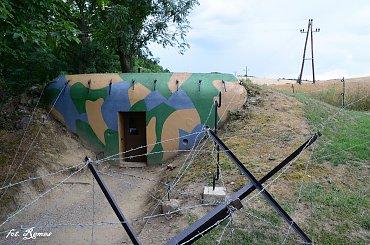 Vranov - czeskie schrony bojowe