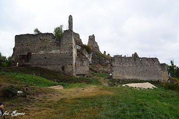 Hrad Korlátka – ruina gotyckiego zamku na Słowacji.
