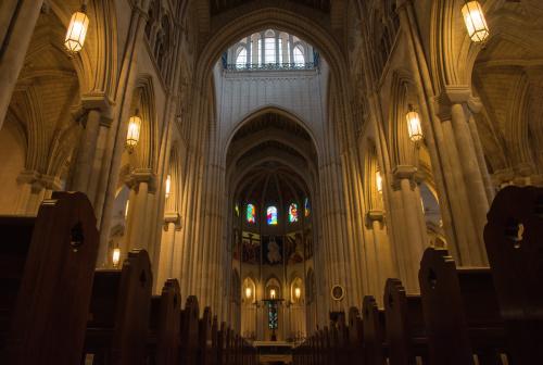 W Katedrze Almudena
