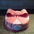 Tort z kokardą #tort #kokarda #tort #okazjonalny #toty