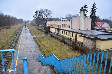 Ruciane Nida - dworzec PKP