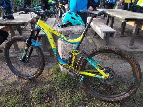 Ten rower nieco zjechał z trasy MWR :-)