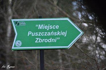 Pogobie Średnie - Miejsce Puszczańskiej Zbrodni