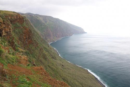 Klif na zachodnim krańcu wyspy