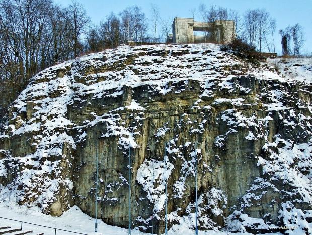 Góra św. Anny - amfiteatr skalny, Pomnik Czynu Powstańczego ...