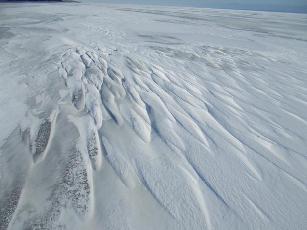 Piękno lodowej natury