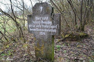 Zaskwierki - Nieczynny cmentarz Ewangelicki