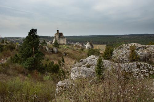 Zamek w Mirowie od drugiej strony
