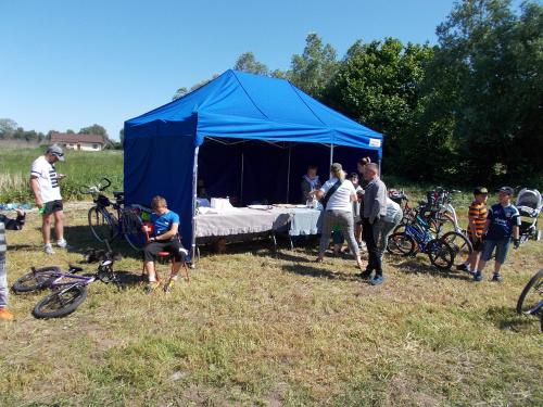 Festyn Rowerowy Zawrót Głowy - namiot cateringowy