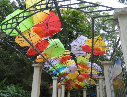W Inowrocławiu nie spadła kropla deszczu... parasole nadal czekają..))