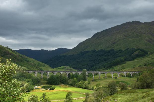 W drodze do Hogwartu czyli wiadukt kolejowy w Glenfinnan