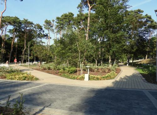 Tego pięknego parku nie było jeszcze w zeszłym roku. Dziwnów naprawdę się stara..