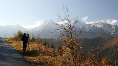 A w Tatrach już zima