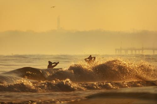 Kurort, morze, bąbelki, -10 stopni....Czy może być coś piękniejszego?