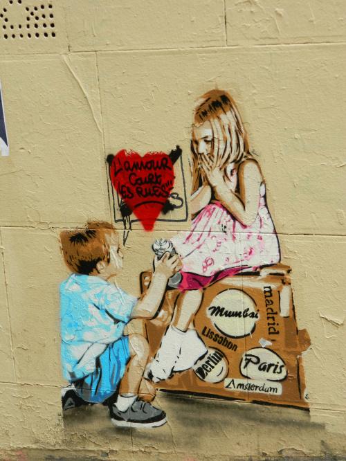 #Paris - Mural