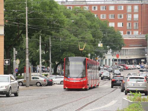 Škoda 30T, #7521, DP Bratislava
