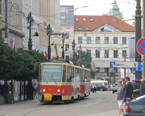 Tatra T6A5, #7913, DP Bratislava