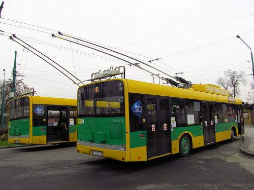 Solaris Trollino 12MB, #36, TLT Tychy