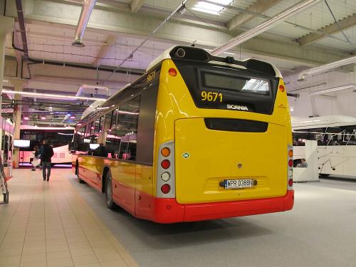 """Scania Citywide LF CNG, #9671, """"Michalczewski"""" sp. o.o / Oddz. Warszawa"""