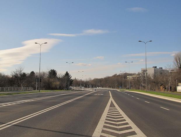 Warszawa - Siekierki, al. Polski Walczącej