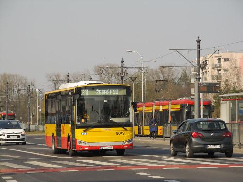 Otokar Vectio C, #9079, Arriva Transport Warszawa