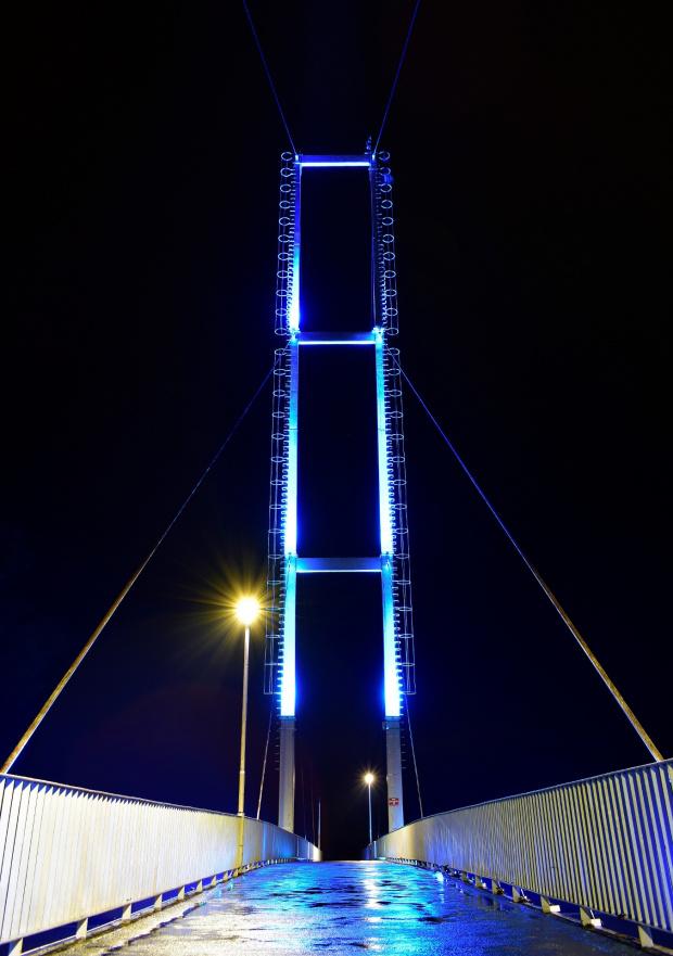 most po deszczu