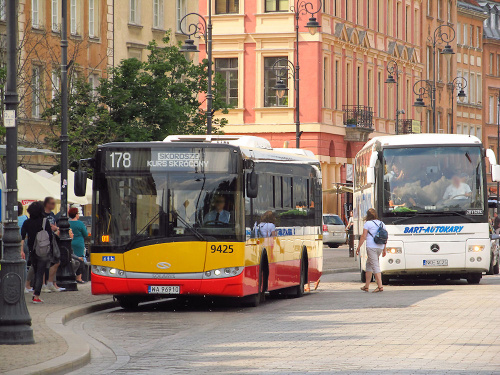 SU12III, #9425, Arriva Bus Transport Warszawa