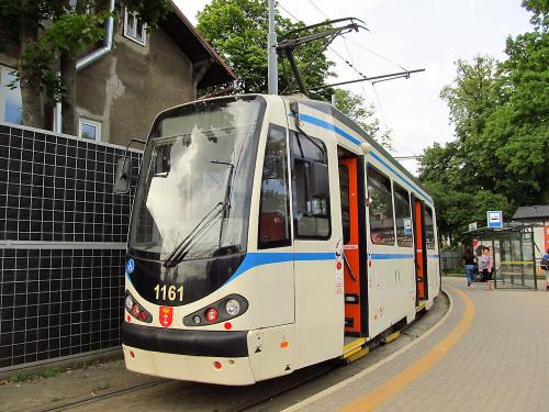 Duewag N8C-NF, #1161, GAiT Gdańsk