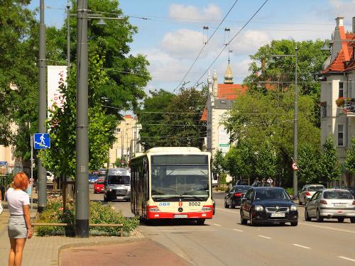 Mercedes Conecto LF, #8002, BP Tour O/Gdańsk