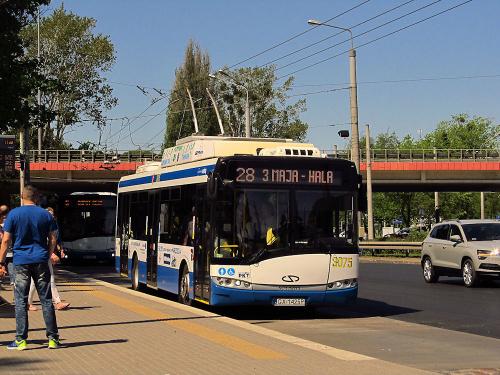 Solaris Trollino 12M, #3075, PKT Gdynia