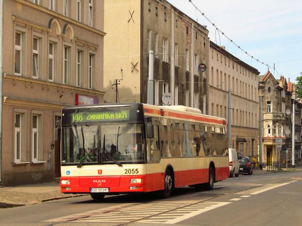 MAN NL283, #2055, GAiT Gdańsk