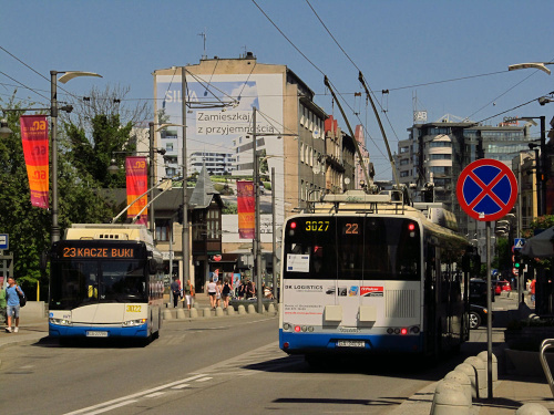 Solaris Trollino 12M, #3022, PKT Gdynia