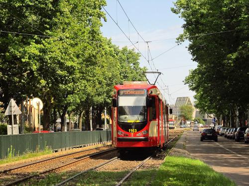 Duewag N8C-NF, #1163, GAiT Gdańsk
