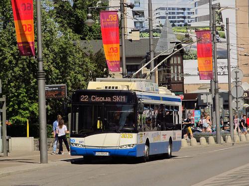 Solaris Trollino 12M, #3035, PKT Gdynia