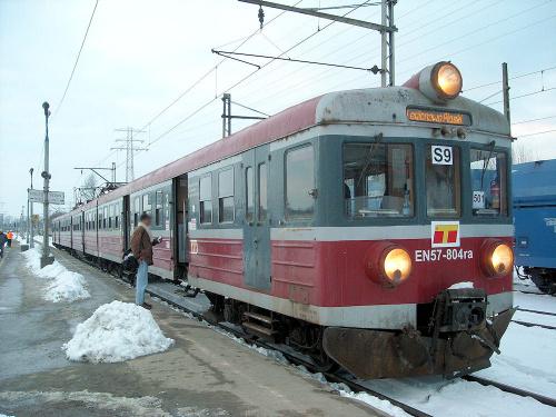 EN57-804, SKM Warszawa
