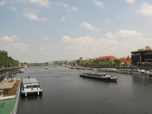 Wełtawa, czeska Praga