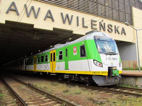 EN57AL-1800, Koleje Mazowieckie