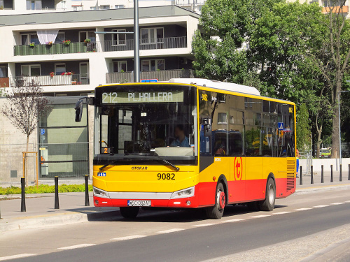 Otokar Vectio C, #9082, Arriva Bus Transport Warszawa