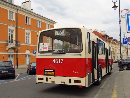 Jelcz PR110M, #4617, KMKM Warszawa