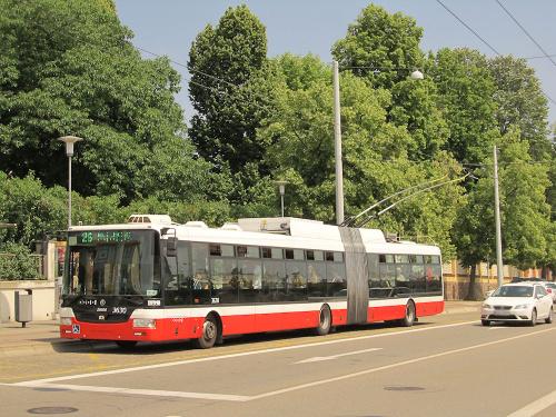 Škoda 31Tr SOR, #3630, DP Brno