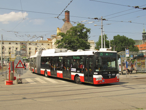 Škoda 31Tr SOR, #3629, DP Brno